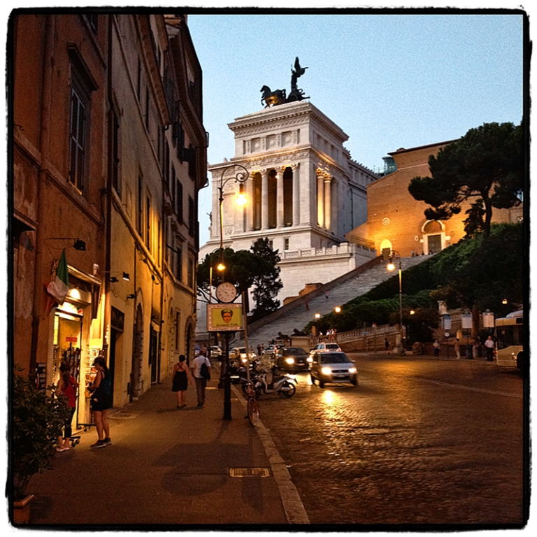 Rome Capitol & Steps Blog iDiarist
