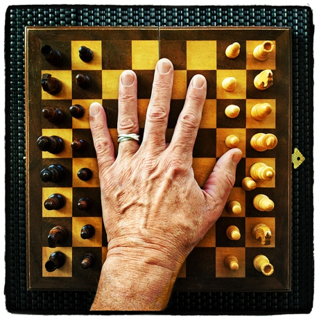Hand on Chess Board Blog iDiarist