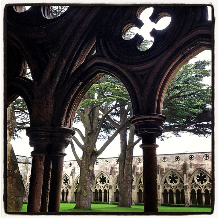 Cloister at Salisbury Cathedral Blog iDiarist