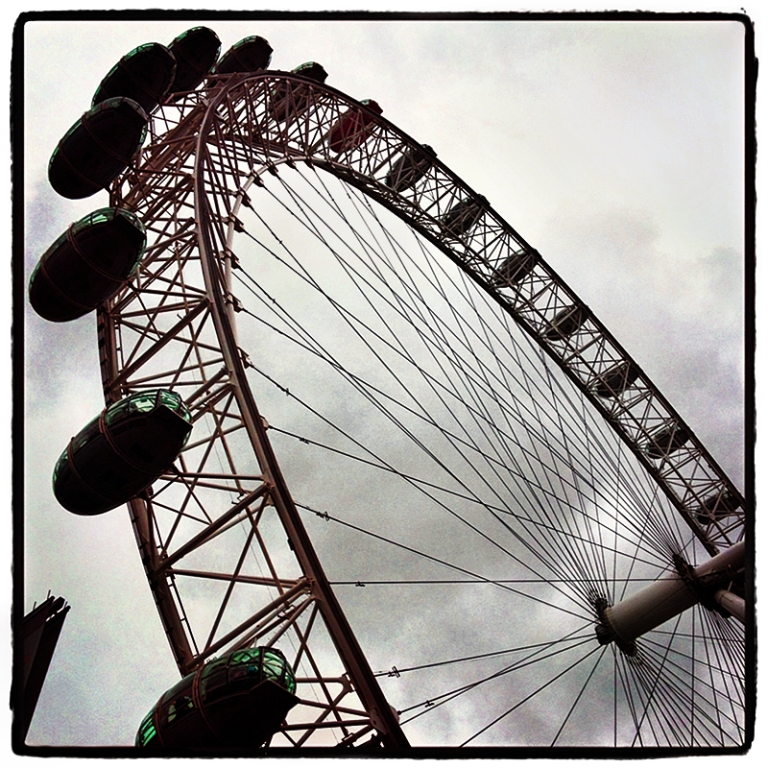 London Eye #4 Blog iDiarist