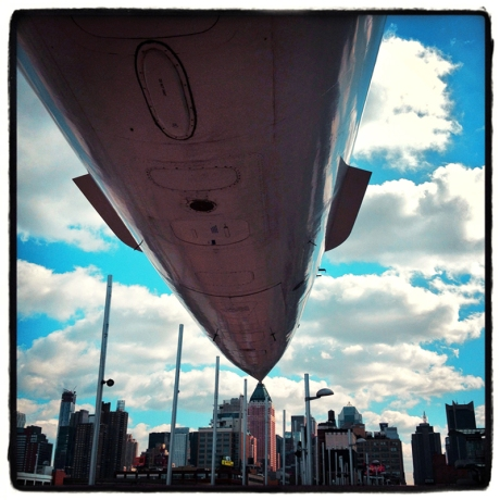 Concorde over NYC Blog iDiarist