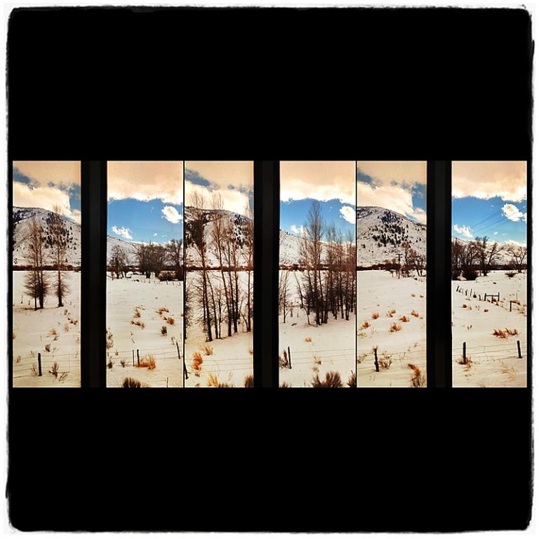 Crossing Rockies Triptych Blog iDiarist