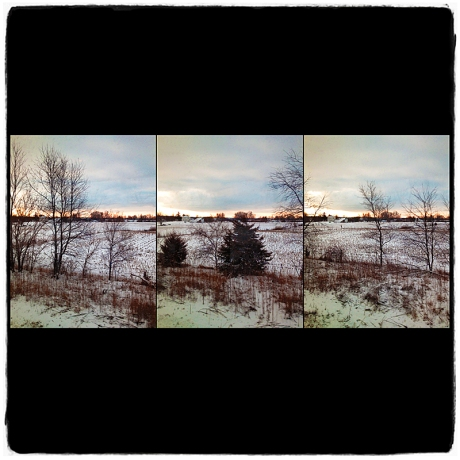 Passing Through Iowa Triptych Blog iDiarist
