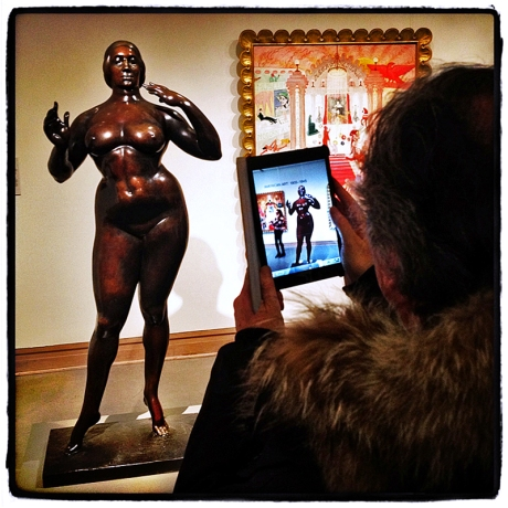 Posing at The Met Blog iDiarist