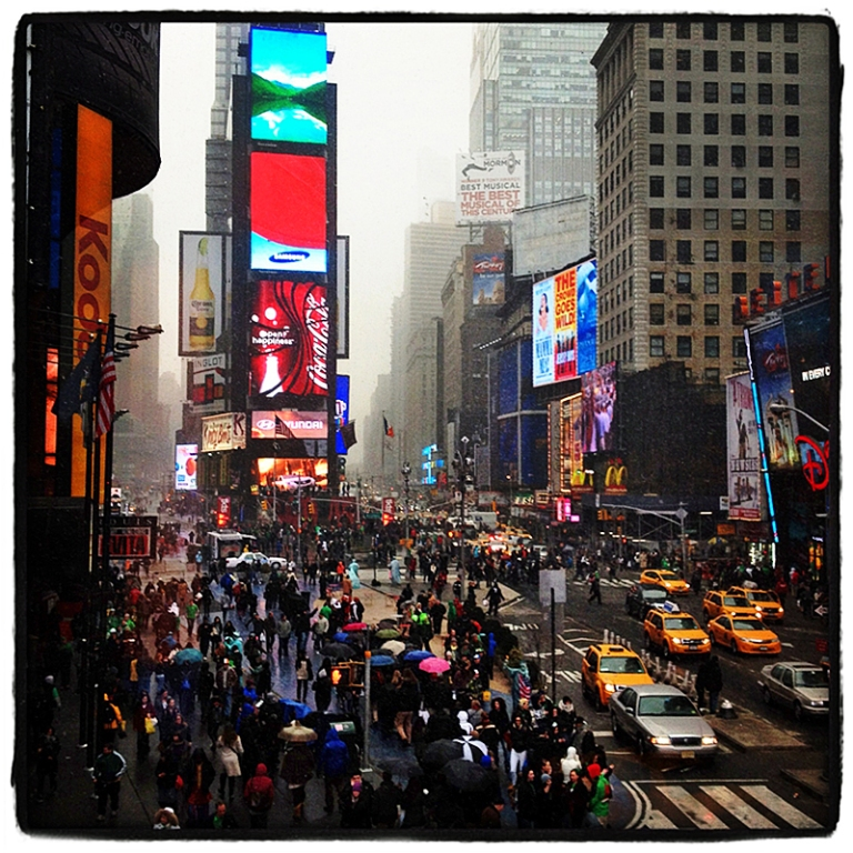 Times Square #6 Blog iDiarist