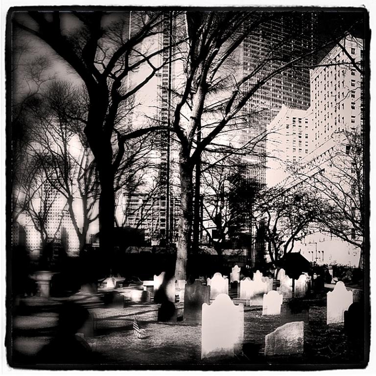 Cemetary at Ground Zero Blog iDiarist