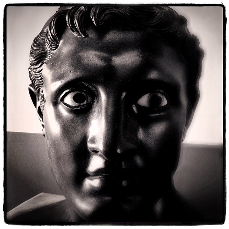 Getty Villa Bust #4 Blog iDiarist