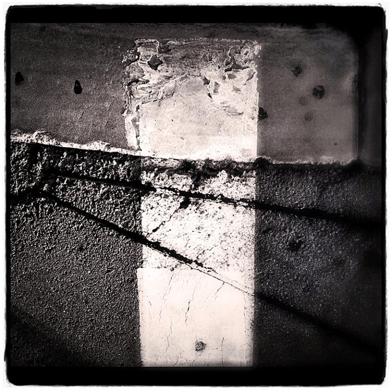 Crosswalk Stripe Abstract #1 Blog iDiarist