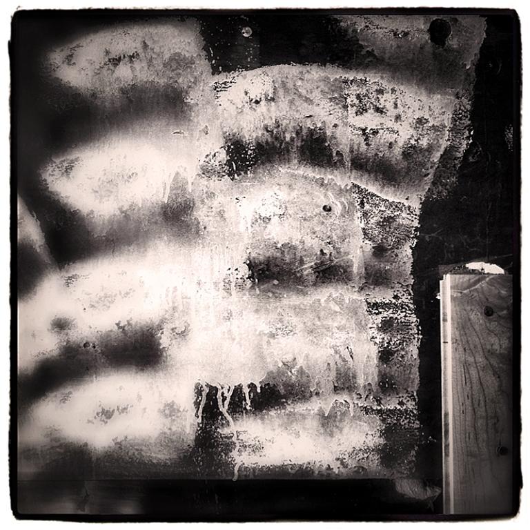 Garage Abstract #2 Blog iDiarist
