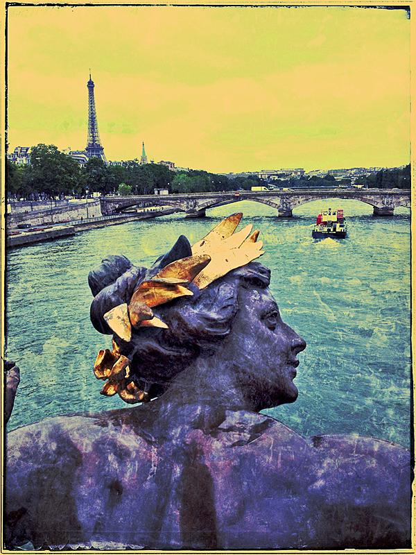 Bridge on Seine Blog iDiarist