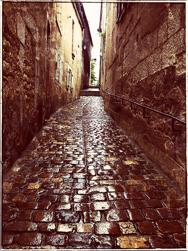 Cobble Stone Street in Bourges Blog iDiarist