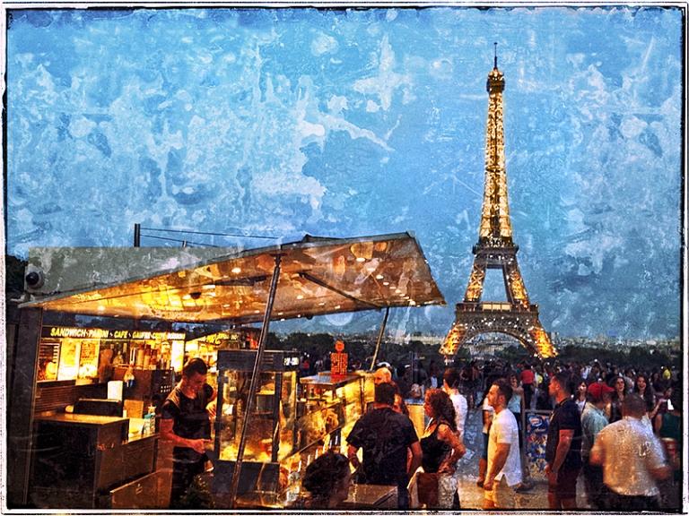 Eiffel Tower #7 Blog iDiarist