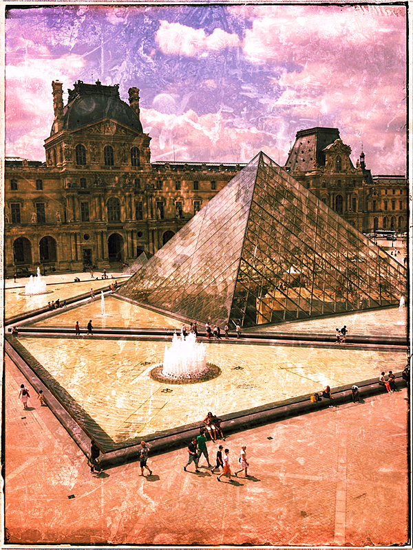 Louvre #1 Blog iDiarist