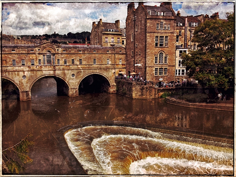 Spillway on Avon in Bath Blog iDiarist