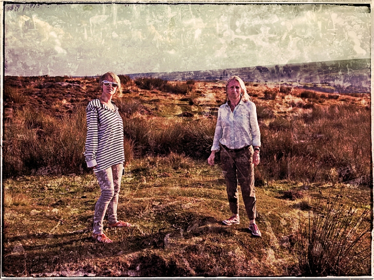 Ali & Joyce on The Moors Blog iDiarist