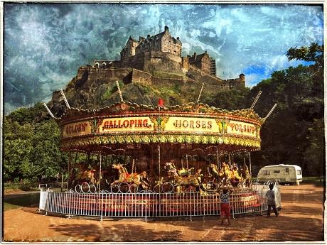 Edinburgh Castle Blog iDiarist
