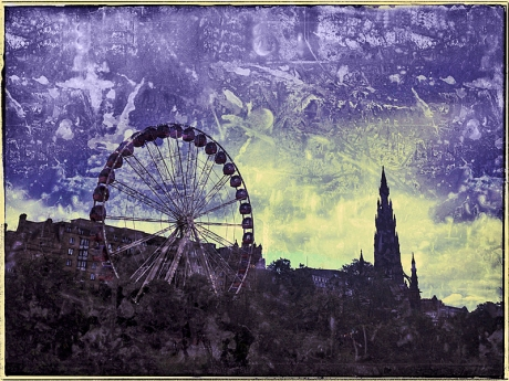 Ferris Wheel at Edinburgh Blog iDiarist