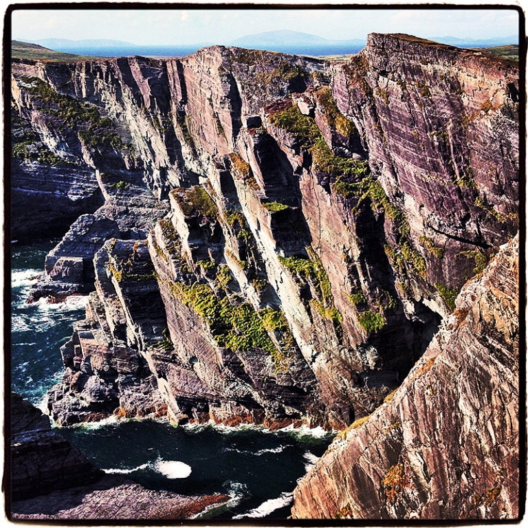Cliffs along the Ring of Kerry Blog iDiarist