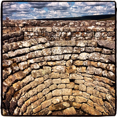 Housesteads Roman Fort at Hadrian's Wall Blog iDiarist