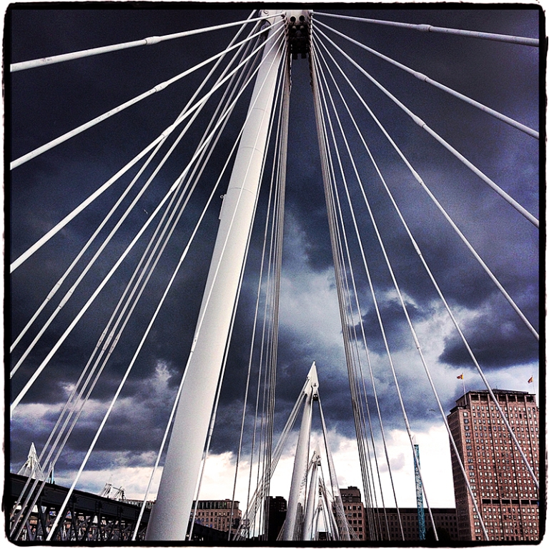Hungerford Bridge Blog iDiarist