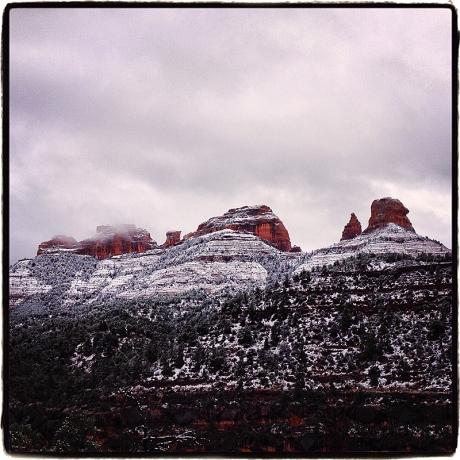 Sedona Snow #1 Blog iDiarist V2