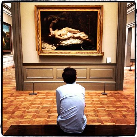 Man at Met Blog iDiarist