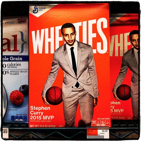 Curry Eats His Wheaties Blog iDiarist