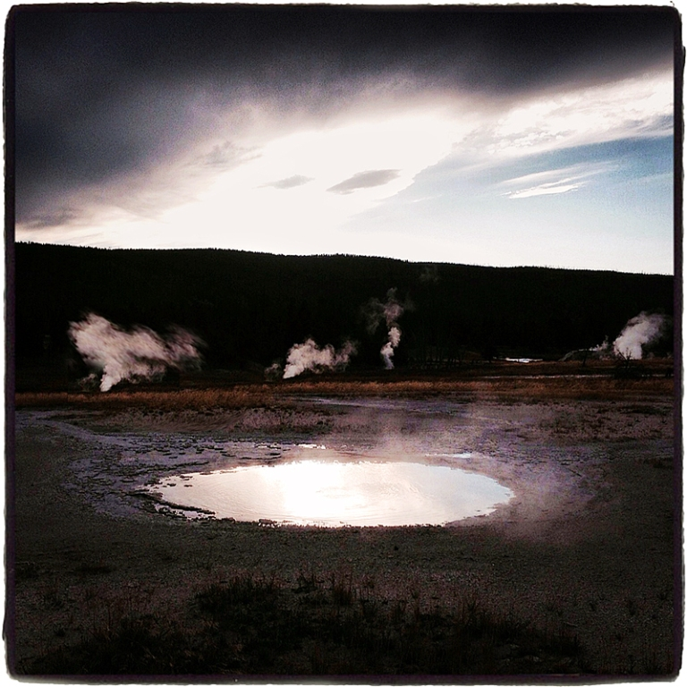 Thermal Pool Yellowstone Blog iDiarist