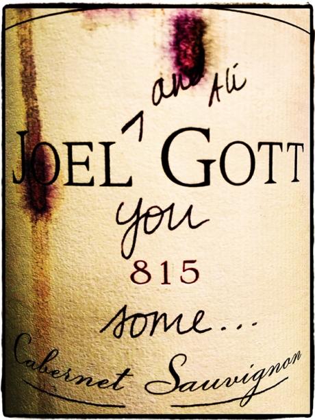Joel Gott Wine Blog iDiarist