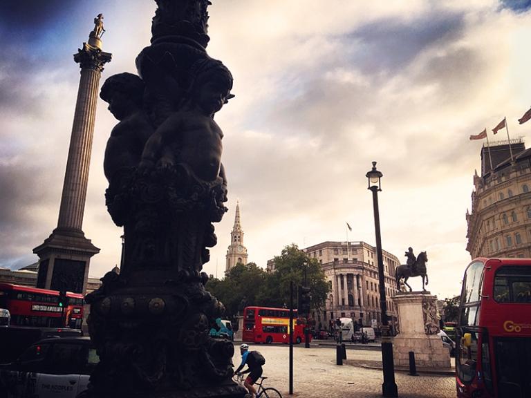 Trafalgar Square iDiarist Blog