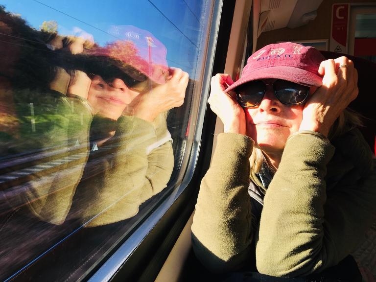 Joyed on Train from York to London iDiarist Blurb