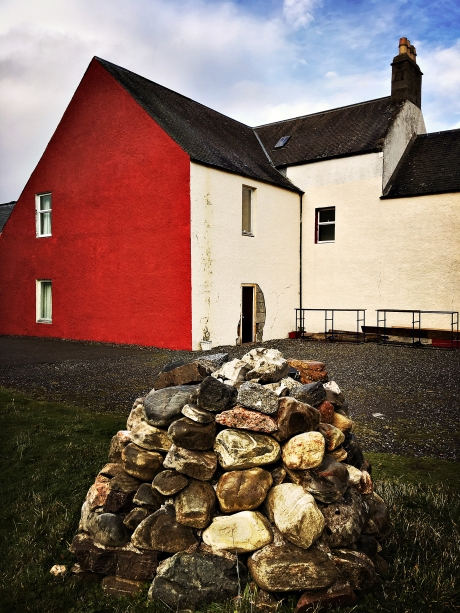Red-Sided House in Scotland iDiarist Blog
